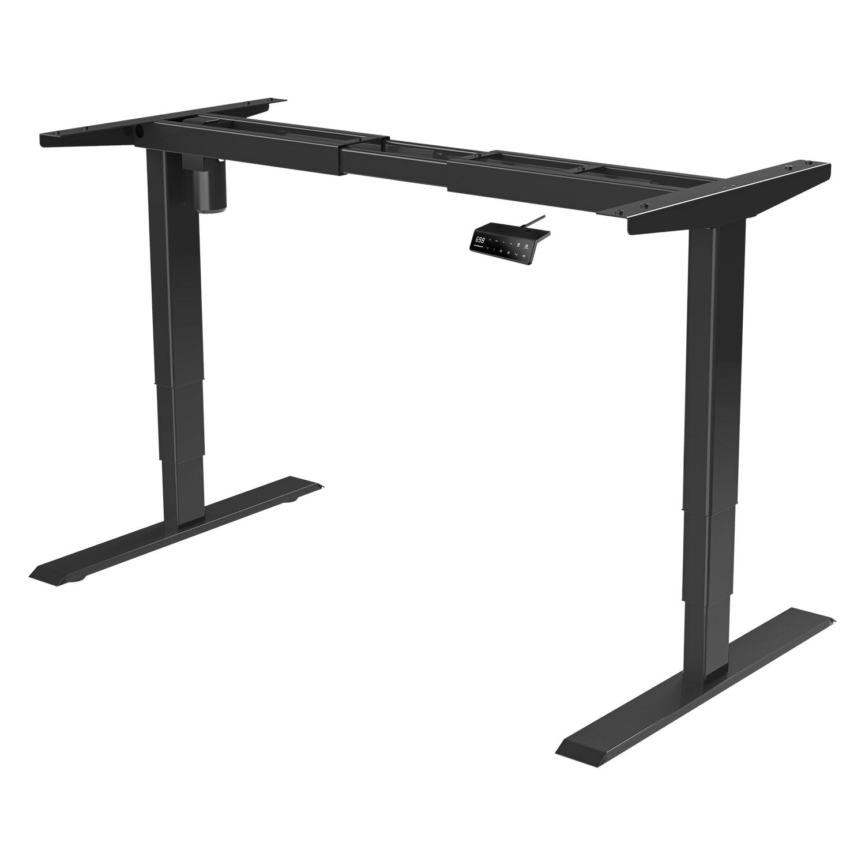 חשמלי גובה מתכוונן עומד שולחן מחשב מסגרת משרד שולחן מתכת מעלית שולחן מסגרת