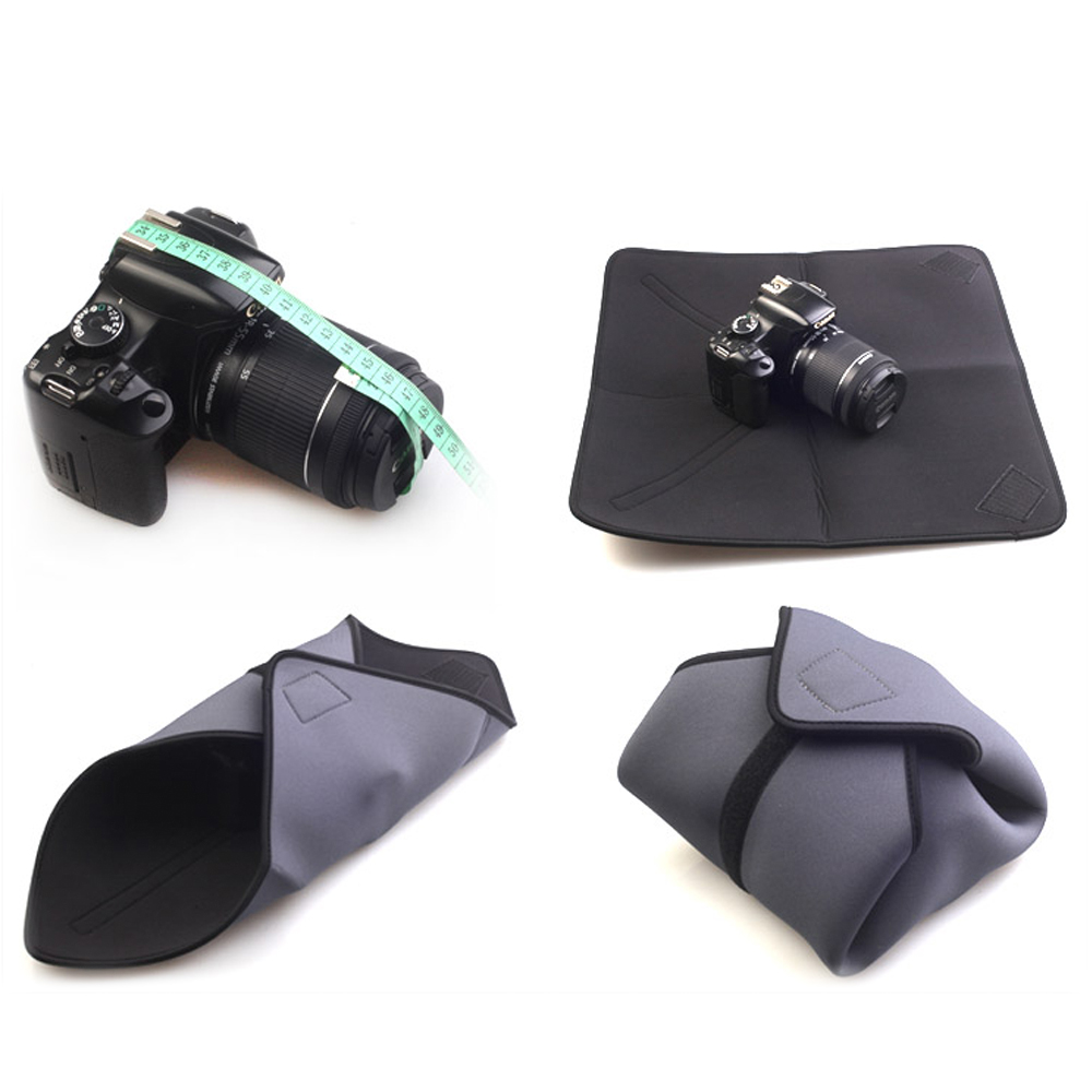 Selens Waterproof Cloth Camera Wrap Shock Protector For Canon Nikon Sony Camera Lens Photo Studio Accessories