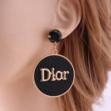 Aretes Drop Earrings Fashion Women Luxury Elegant Dinner Party Earring Designer Wholesale Clothing Accessories