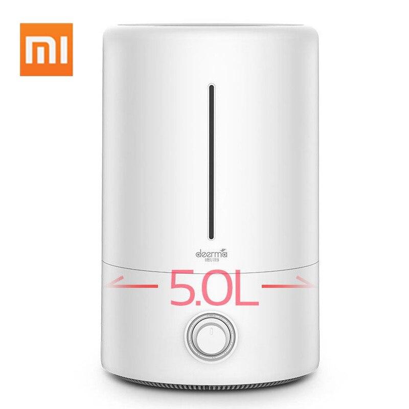 Xiaomi Deerma 5L увлажнитель воздуха бытовой ультразвуковой увлажнитель воздуха ароматерапия Humificador для офиса дома