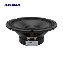 AIYIMA 1PCS 6.5 Inch Car Bass Audio Speaker