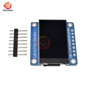 Image 5 - 1.14Inch 135X240 SPI Nối Tiếp TFT Màn Hình Hiển Thị LCD Module ST7789 Ổ IC IPS HD RGB Màn Hình LCD Full quan Điểm 8 Pin 135*240 3.3V SPI Cổng