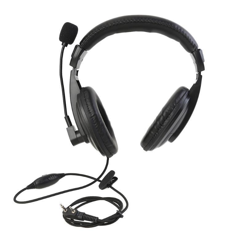 K-Head Walkie Talkie PTT Headset Mic Headset For Kenwood's Baumer UV-5R BF-888S Headset Retevis H777 RT5R RT22