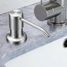 Lotion Dispenser Bottle Products Sink Soap Improvement Bathroom Kitchen ABS Home R3Y5