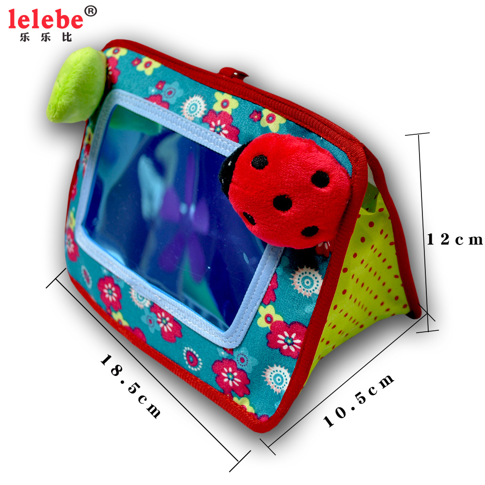 Lelebe Baby Walker Trolley Toys Hanging Infants Bed Hanging Cognitive Mirror Ann