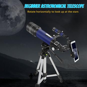 4 # teleskop astronomiczny 67x początkujący monokularowy teleskop obserwacyjny Lunar teleskop ze statywem 40070 tanie i dobre opinie CN (pochodzenie) Z tworzywa sztucznego
