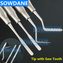 Dental Oral Care Set Stripper Perio with Saw Tooth Cleaning Teeth Whitening Spatula