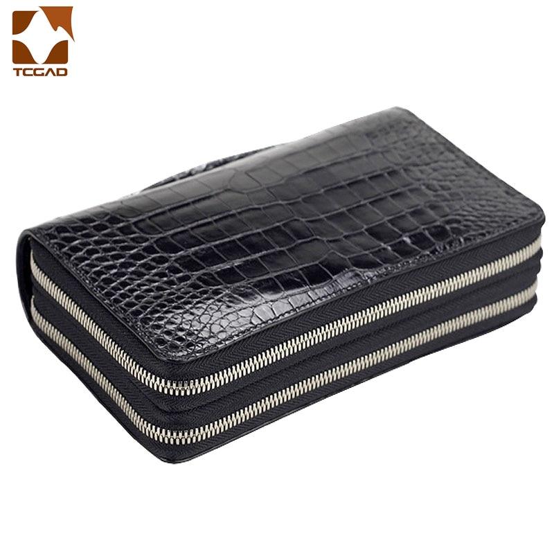 Women's Wallet Luxury Double Zip Purse Sac Femme Cartera Mujer Sac Money 2019 Portefeuille  Damski Femme  Patent Leather Genuine