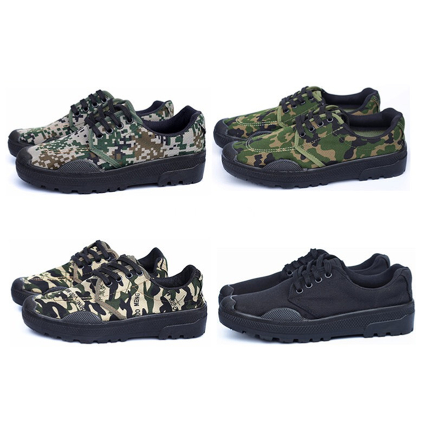 Camouflage Rubber Shoes Military Uniforms Anti-slip Strong Abrasion Resistance Green Jungle Training Combat Tactical Shoes