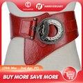 Hot Fashion Women Wide Waist Elastic Stretch Belt women's girdlestrap belts for women cinturon mujer cummerbund strap LB029