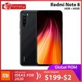 In Stock Global ROM Xiaomi Redmi Note 8 4GB 64GB 48MP Quad Camera Smartphone Snapdragon 665 Octa Core 6.3