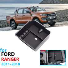 Car Organizer Accessories for Ford Ranger 2011 2012 2013 2014 2015 2016 2017 2018 2019 Extended Wildtrak Armrest Box Storage