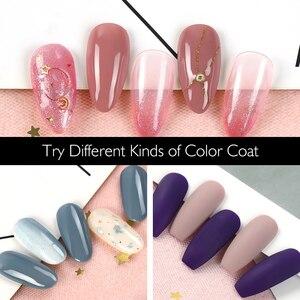 Image 5 - COSCELIA Nail Gel Polish Varnish Manicure Set UV Gel Starter Manicure Tool Kit Nail Art  For Nail Kits Brush With Top Base Coat
