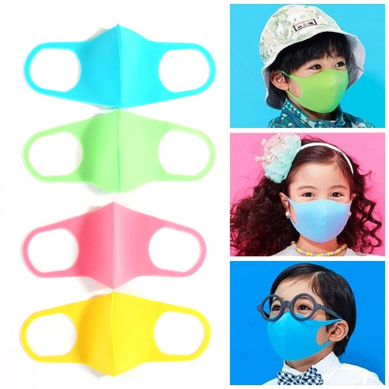 *1/3Pcs Washable Earloop Mask Anti Dust Mouth Face Mask Adult Kids Health Dustproof Anti-Dust Cold Prevention Mask