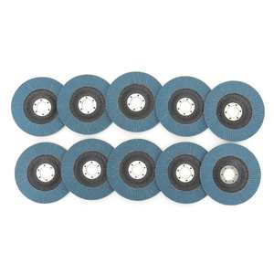 Image 3 - 10Pcs Grinding Wheels Flap Discs Sanding Discs 125mm 5 Inch 40/60/80/120 Grit Angle Grinder Abrasive Tool Wood Tools