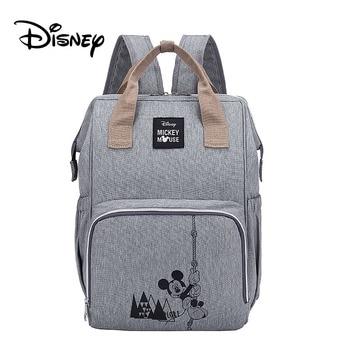 Disney Pre-design Cartoon Baby Diaper Bag Waterproof Baby Bag Organizer Nappy Maternity Bag For Stroller Mom Travel Free Hooks - 7