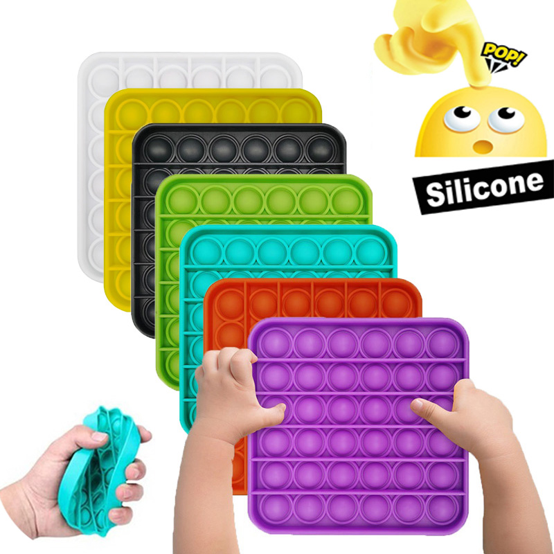 Kid Toy Needs-Stress Squeeze Push-Pops Special Bubble-Sensory-Toy Increase Reliever Focus