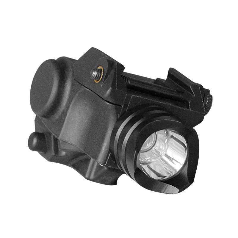 Subcompact tabanca tabanca Airsoft silah ışık Mini 80 lümen taktik Glock 17 18 19 silah silah avcılık için el feneri