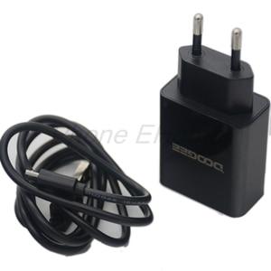 Doogee BL12000 AC Adaptor Fast Charger Original Travel Charger EU Plug Adapter +USB Cable DC 5V 7V 9V 12V 2A(China)
