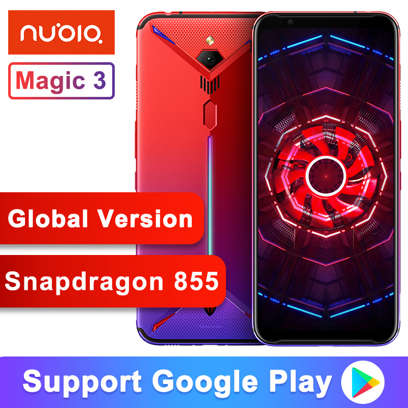 Global Version Original ZTE Nubia Red Magic 3 Game Phone 6.65