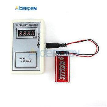 Dijital Frekans Test Cihazı Metre Tezgah El Kablosuz Uzaktan Kumanda 250-450 MHZ Test Araçları DC 7.5-10 V 10cm Test Mesafesi