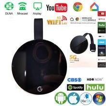 Adaptador de pantalla Wifi inalámbrico para TV, compatible con Youtube, Anycast, DLNA, Miracast, Airplay, Stick, IOS