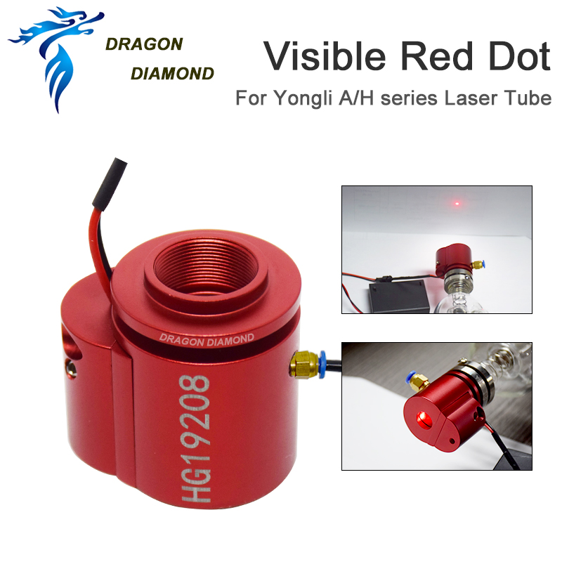 DRAGON DIAMOND Yongli H/A Series Red Dot Kit Assist Used For Laser Tube Adjusting The Light Path