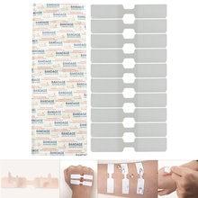 10 шт/упак клейкие пластыри Водонепроницаемый свидетельствует