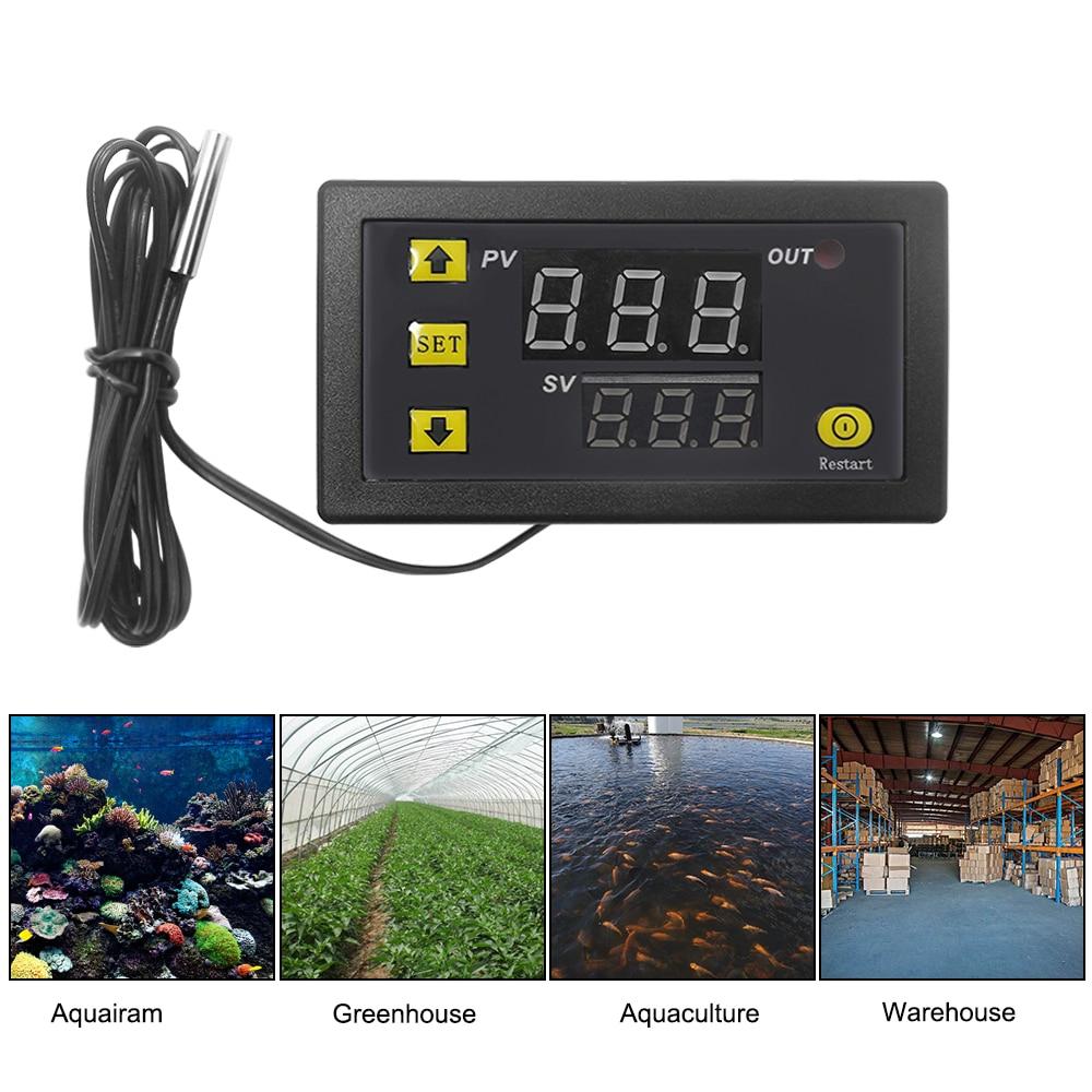 Digital Thermostat 12V 24V 110V 220V Temperature Controller Temperature Control