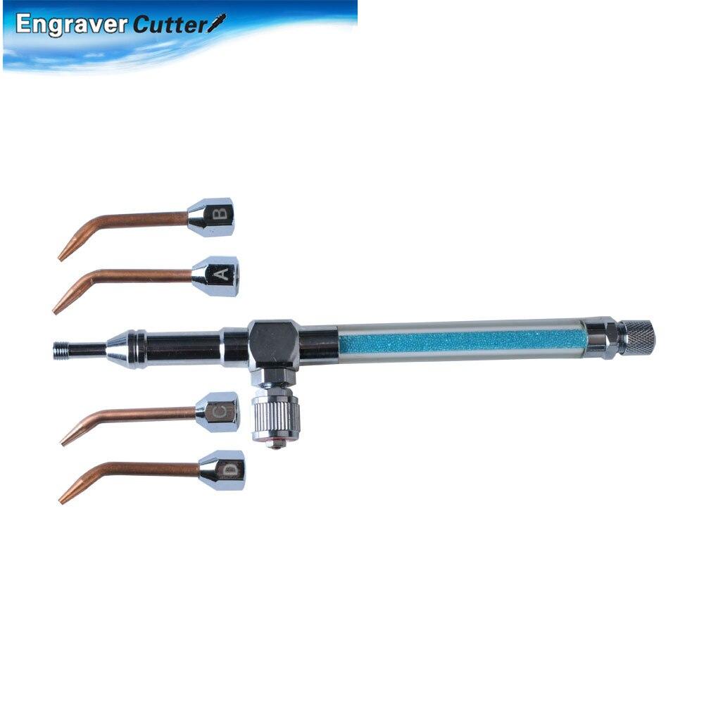 Универсальный высокочастотный HHO кислородный газовый фонарь, сварочный пистолет с 5 медными насадками для водяного пистолета