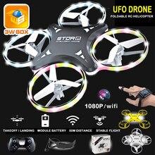 3WBOX mini drone Induction Drone Montre Intelligente Télédétection Geste Avion UFO Main Contrôle Drone Maintien D'altitude Enfants jouets