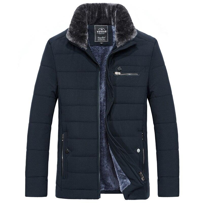 2019 Homens Inverno Amassado Parkas Jaqueta de Algodão Acolchoado de Alta Qualidade Grosso Quente Casacos Casual Casacos Homens jaquetas masculina inverno
