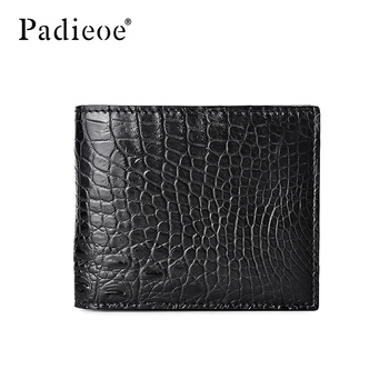 Padieoe men wallets purses luxury money bag clutch fashion  Simple crocodile skin