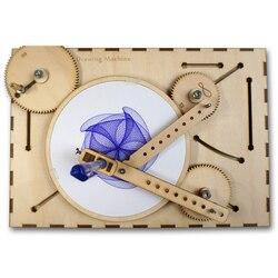 Циклоидальная машина для рисования циклоидальный плоттер научные игрушки для экспериментов детский Весенний фестиваль подарок Ugears