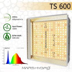 Mars Hydro TS 600W LED crece la luz Sunlike plantas hidropónicas de Interior de espectro completo