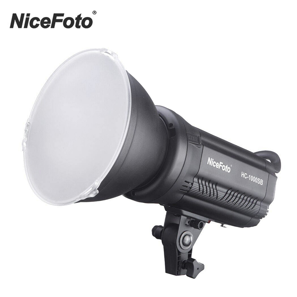 Video-Light Ce with Wireless-Control COLOR-FILTERS HC-1000SB CRI95 Nicefoto Lcd-Screen
