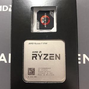 Image 2 - AMD Ryzen 7 1700 R7 1700 CPU Prozessor 8Core 16 Themen AM4 3,0 GHz TDP 65W 20MB cache 14nm DDR4 Desktop YD1700BBM88AE