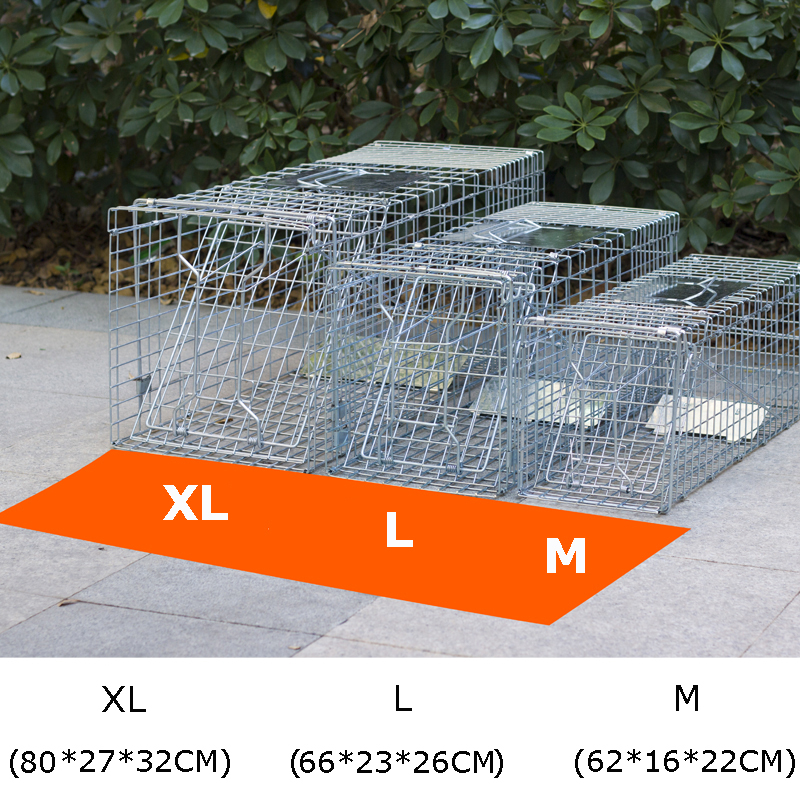 Super Large Catching Mice Mouse Traps Bait Snap Rodent Catcher Foldable Reusable Mice mousetrap Hunt Weasel Wild Cat Rat Cage image