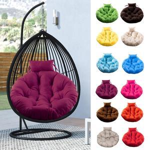 Nuevo cojín redondo para silla, cojín para asiento de columpio, cojín colgante para silla, cojín para respaldo, cojín para suelo de hogar con almohada para decoración del hogar