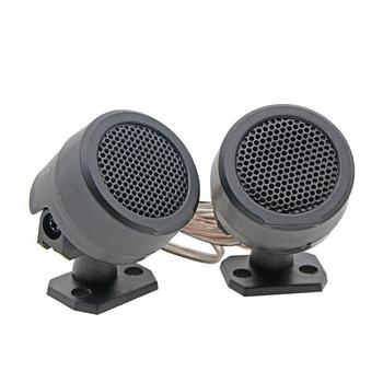2 sztuk 500W wstępnie przewodowy głośnik wysokotonowy system audio do samochodu drzwi pojazdu auto audio muzyka Subwoofer akcesoria elektroniczne tanie i dobre opinie Yfashion 17cm Cars Audio Black