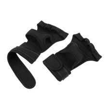Fitness Gym Weightlifting Gloves Neoprene Wrist Support Wraps Straps Gloves