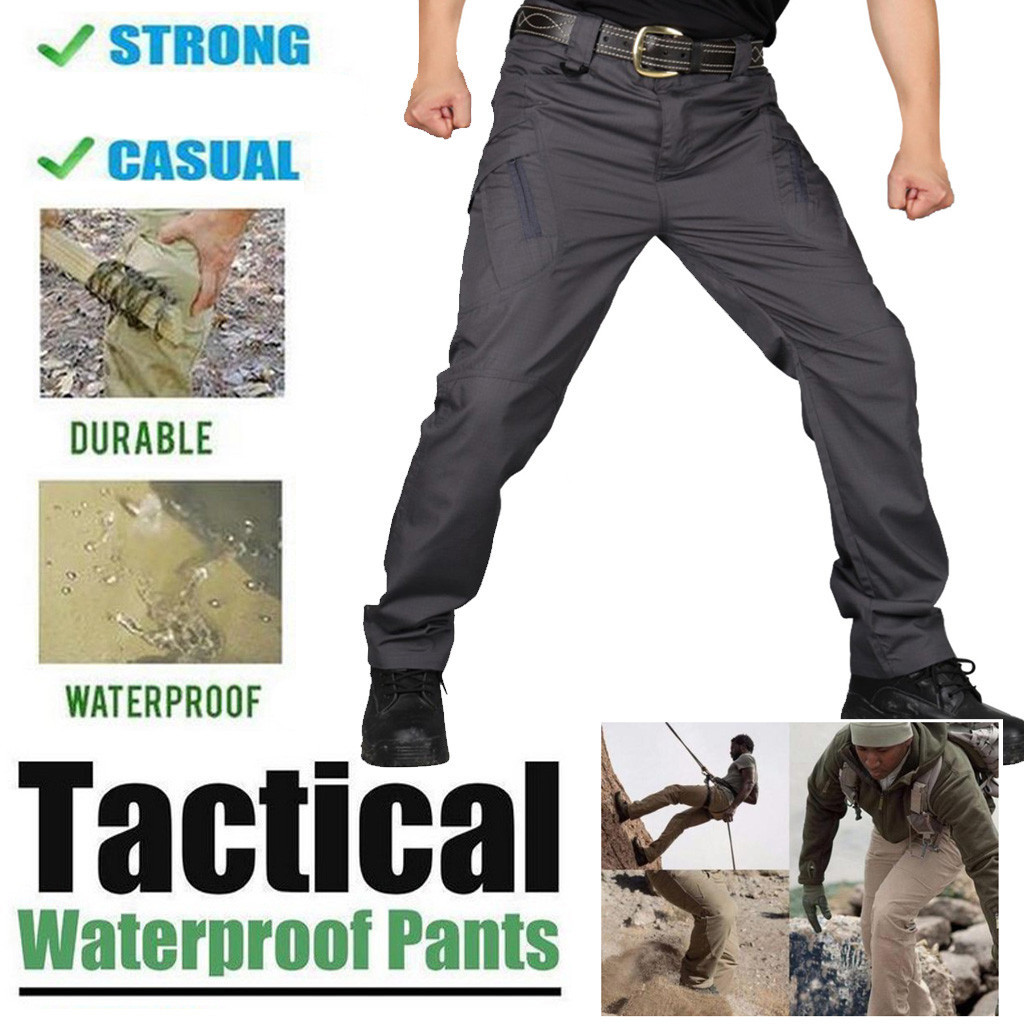 Slight Waterproof Anti-scratch And Anti-splash Water Multi-function Tactical Outdoor Pants For Camping Climbing Pants M0930