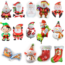 1pc Merry Christmas Balloons Birthday Party Decorations Kids Decoration Globos Aniversario Ballons Baby Shower 2020 Festival