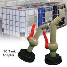Ibc адаптер бака 45 градусов ibc садовая водопроводная труба
