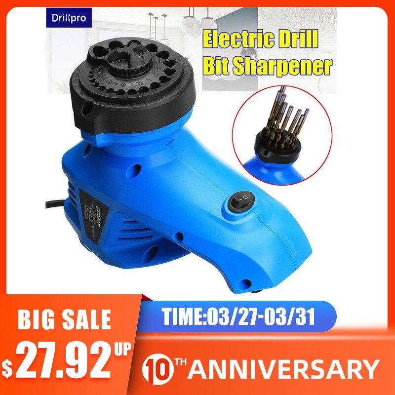 Electric Drill Bit Sharpener Twist Drill Grinding Machine Drill Grinder Drill Milling Machine 3-12mm 220V