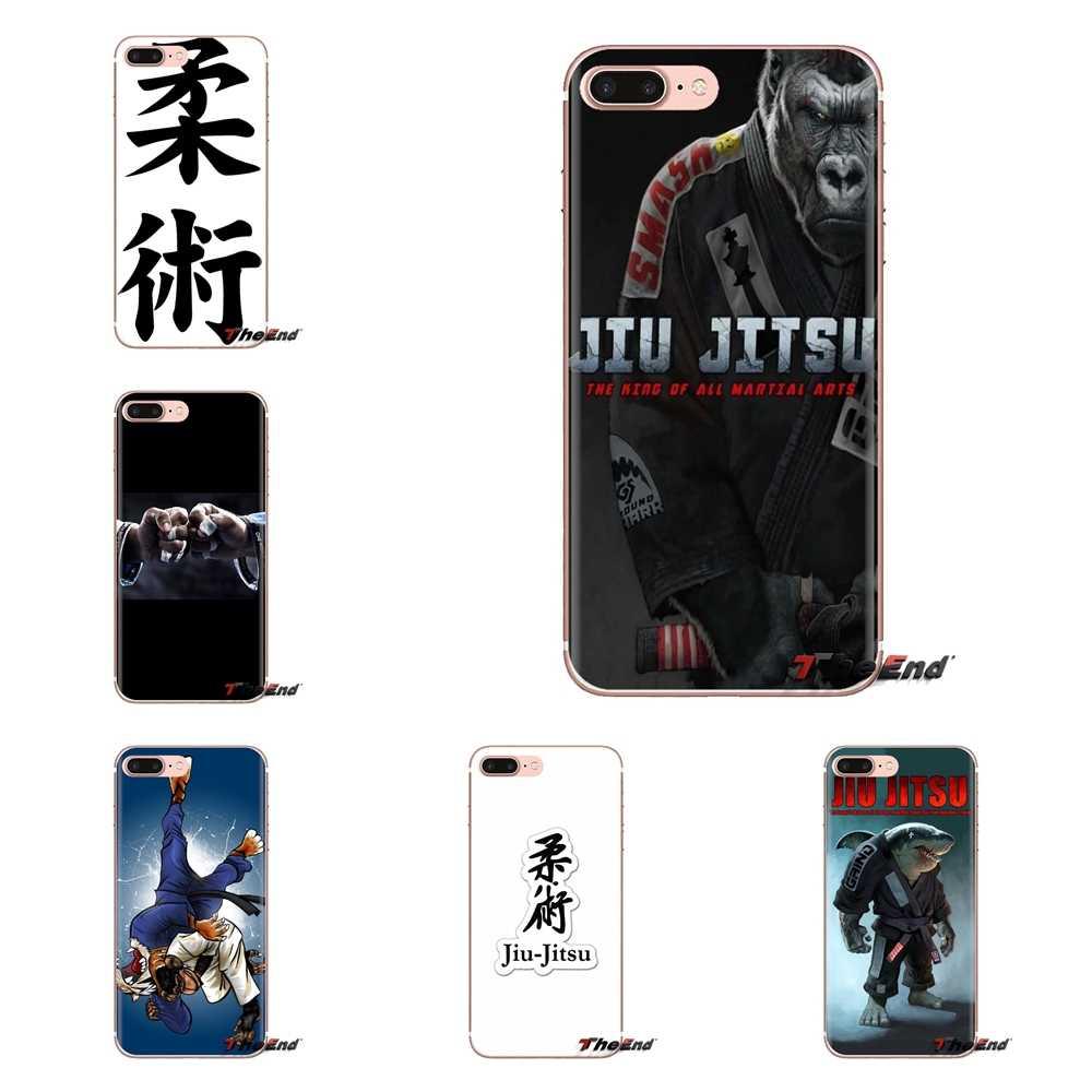 Jiu jitsu Judo Voor Xiao mi mi 6 mi 6 A1 max mi X 2 5X 6X rode mi NOTE 5 5A 4X 4A A4 4 3 Plus Pro Zachte Transparante Gevallen Covers
