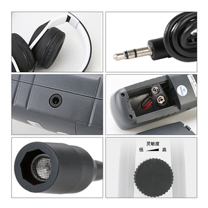 Image 4 - Detector de vazamento de carro ultrassônico dy26a, instrumento de inspeção de vedação de falha