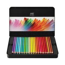 Nyoni 12/24/36/48/72/120 cores lápis coloridos à base de óleo lapis de cor profissional macio núcleo arte suprimentos