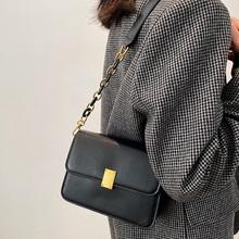 Wysokiej jakości Pu skórzane damskie torby listonoszki projektant mody torebki Crossbody dla kobiet projektant torebki damskie tanie tanio amberler Flap Torby na ramię Na ramię i torby crossbody CN (pochodzenie) Hasp SOFT NONE Moda AB1481 Poliester Versatile