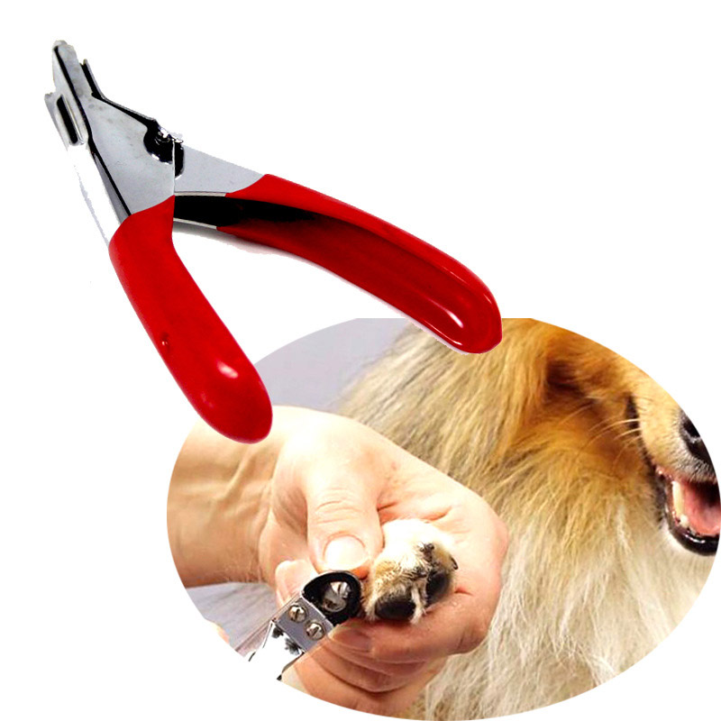 Nail Clippers Dog Cat Professional Stainless Steel Claw Trimmer Pet Puppy Toe Grooming Scissor Animal Nails Cutter Clipper Tool